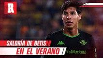 Diego Lainez pediría salir del Betis en el verano