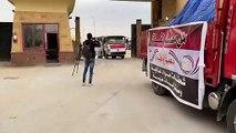 الهلال الأحمر المصرى يقدم مساعدات طبية للفلسطينيين بقطاع غزة