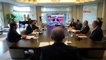 CUMHRUBAŞKANI ERDOĞAN G20 LİDERLER ZİRVESİNE TELEKONFERANSLA KATILDI