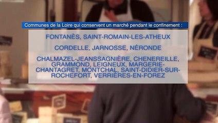 Loire : à priori 13 communes rurales conservent leur marché