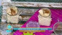¡Delicioso arroz con leche de guayaba y mazapán!  | Venga La Alegría