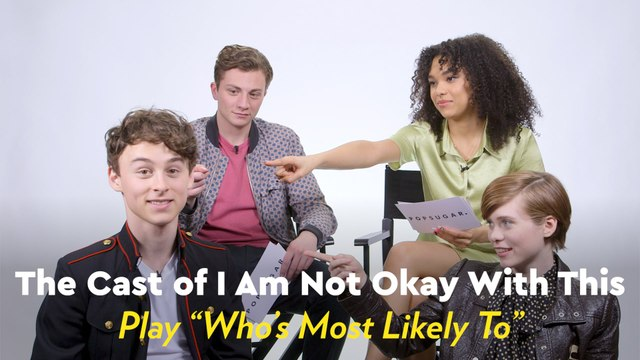 The Cast of I Am Not Okay With This Played Who's Most Likely, and Now We're Even More Obsessed