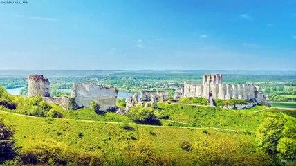 Reconstrucción digital del castillo de Gaillard
