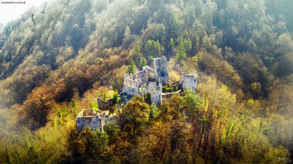 Reconstrucción digital del castillo de Samobor, Croacia