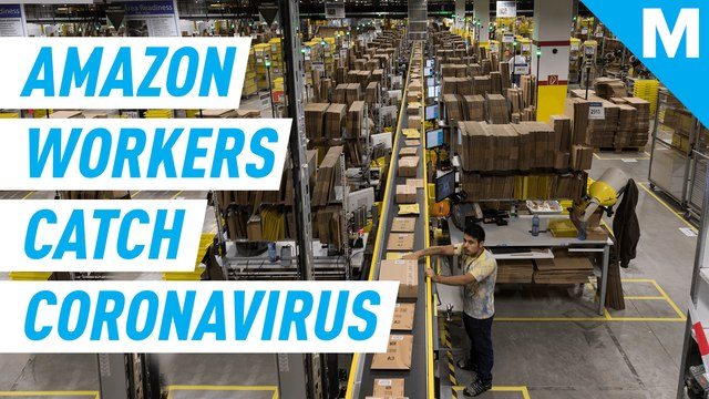 Amazon warehouse workers in U.S. have tested positive for coronavirus