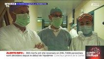 À Colmar, les soignants en réanimation travaillent malgré le risque de contamination