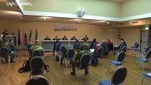 COVID-19: un convoy con médicos rusos llega a Lombardía para contener la propagación del virus