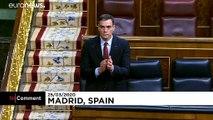 No Comment : les députés espagnols applaudissent le personnel soignant