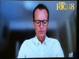 Maarten Boute prezante mezi Digicel pran nan kad lit yap mennen kont Coronavirus la.