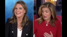 Savannah Guthrie co-hosts 'Today' show from her basement