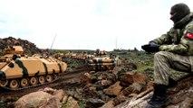 الجيش التركي ينشئ نقطة جديدة قرب الكفير بعد تفجير جسر على الطريق الدولي - هنا سوريا