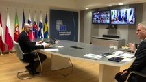 AB liderlerinden Kovid-19 toplantısı
