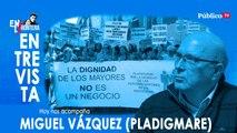 Entrevista a Miguel Vázquez - En la Frontera, 26 de marzo de 2020