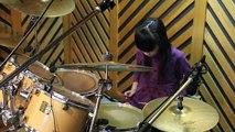 『ONE OK ROCK - The Begining(Drum Cover)』叩いてみた。9years Drummer Mana Fukuda ~福田まあな~ ( 360 X 360 )