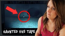 VHS Tape Reveals Ghosts Caught On Camera-  Are Scary Videos Like This Really Haunted??