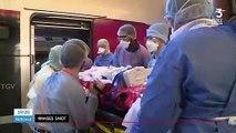 Coronavirus: des patients transférés en TGV de Strasbourg à Angers et Nantes