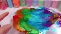 Kids Combine Water Slime Glitter Clay DIY Learn Combine Colors Slime Toys For Kids