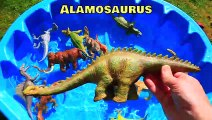 Dinosaurs Learn Name and Sounds, Jurassic World Dinosaur Educational Video, Dinosaurs Toys for kids