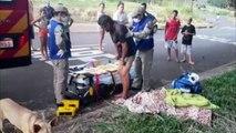 Vítima de agressão sofre afundamento de crânio no Bairro Brasmadeira; Siate foi mobilizado
