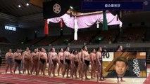 Hakuho Yusho - Award ceremony - Haru 2020 !!! (Abema TV)
