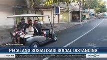 Pecalang Sosialisasikan Pentingnya <i>Social Distancing</i>