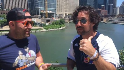 Barstool Chicago Does Red Bull BP In The Streets With Kris Bryant and Thomas Ian Nicholas