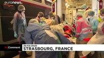 No Comment : le premier TGV médicalisé évacue des patients du Grand Est