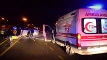 Aydın'da kamyonet devrildi: 2 yaralı