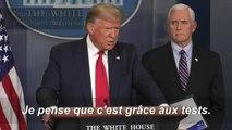 Coronavirus: Trump annonce qu'il parlera au président Xi jeudi soir