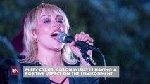 Miley Cyrus' Coronavirus Comment
