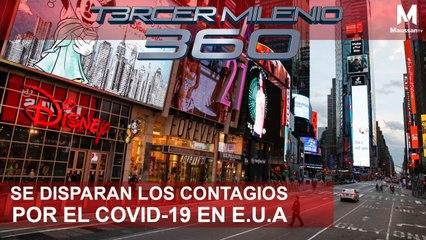 Tercer Milenio 360 l Se disparan los contagios por el COVID-19 en E.U.A. l 26 de Marzo