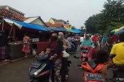 Pasar Sipon, Tangerang, 26 Maret 2020, masih ramai pengunjung