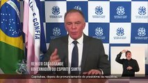 Pronunciamento de Renato Casagrande na TV