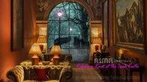 Relaxing Rain at the Irish Castle | ASMR | Luxury Living