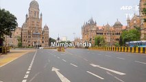 Mumbai streets deserted on day 2 of India's virus lockdown
