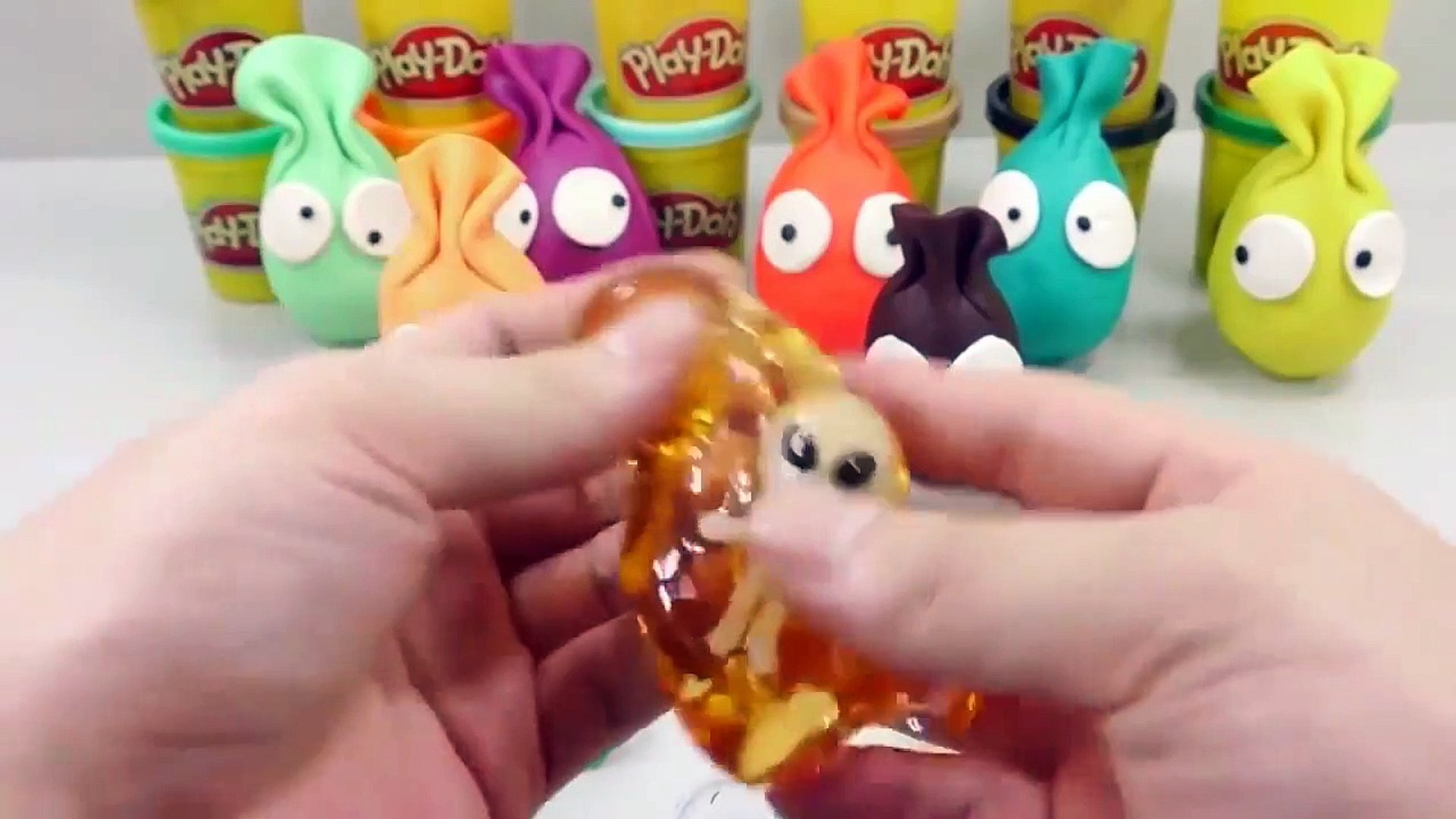 Kids Play Colors Slime Combine Mix Learn Colors Surprise Egg Clay Kids Play Toys For Kids
