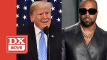 Kanye West Reaffirms His Allegiance To Donald Trump- 'I'm A Black Guy With A Red [MAGA] Hat'