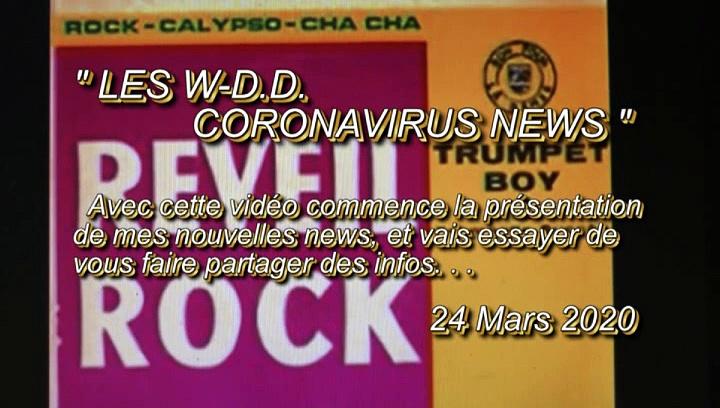 LES W-D.D. CORONAVIRUS NEWS – 24 MARS 2020 – PAU – UN GINGLE POUR TOUTES LES INFOS SUR LE CORONAVIRUS