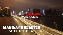 Coronavirus: Drone images show empty streets in Wuhan at night
