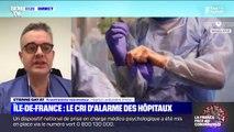 """L'anesthésiste à l'hôpital Lariboisière Etienne Gayat annonce qu'""""il reste un lit de réanimation sur les 46 ouverts"""""""