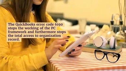 How to Quickly Resolve Quickbooks Error Code 6190