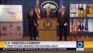 Caracas blasts Maduro indictment as coup bid