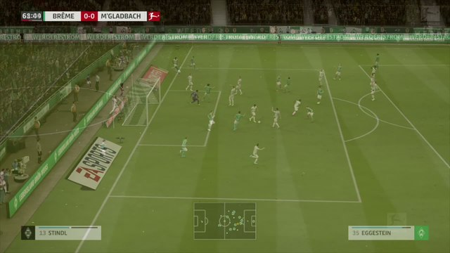 Werder Brême - Borussia M'Gladbach : notre simulation FIFA 20 (Bundesliga - 28e journée)