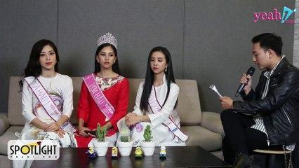 YEAH1 NEWS - Full Buổi Phỏng Vấn Top 3 Hoa Hậu Việt Nam 2018 - YEAH1SPOTLIGHT #3