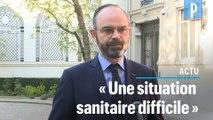 Edouard Philippe : «Le bilan des dernières 24h est lourd, la crise va durer»