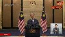 Muhyiddin mengumumkan Pakej Rangsangan Ekonomi Prihatin Rakyat berjumlah RM250 bilion