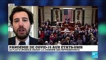 Pandémie de Covid-19 aux États-Unis : Le plan d'urgence devant la chambre des Représentants