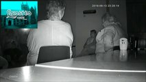 Ghost caught on camera moving cctv