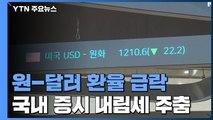 美 초대형 경기부양책 통과에 원-달러 환율 급락 / YTN
