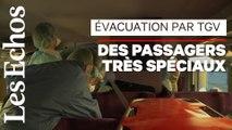 Evacuer les malades par TGV : 1er test réussi